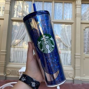 Disney Starbucks Wishes Come True Blue Tumbler